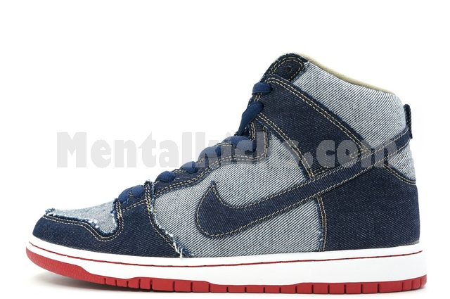 huge selection of 2408d fc90a nike sb dunk high trd qs reese forbes denim 881758-441
