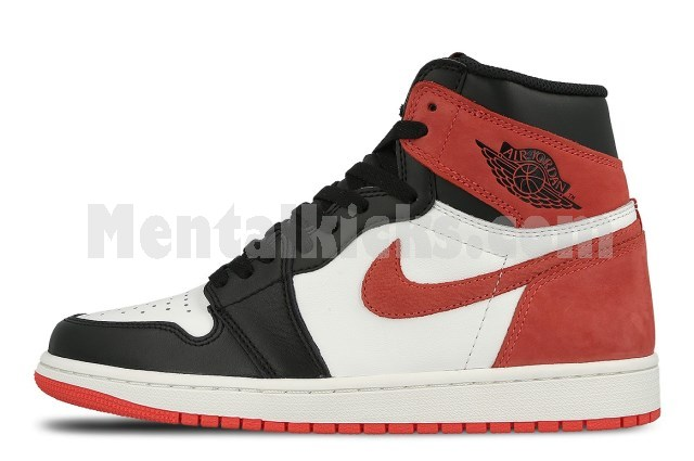 2b81fc49e7f8 Mentalkicks.com - nike air jordan 1 retro high og 6 rings red 555088-112