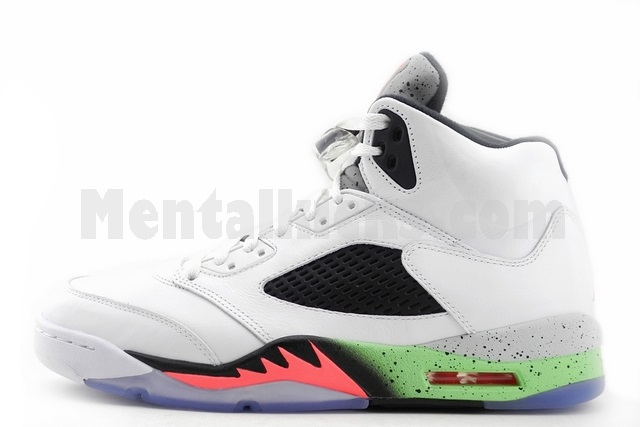 reputable site 9dbe3 0e2cb nike air jordan 5 retro space jam pro stars 136027-115
