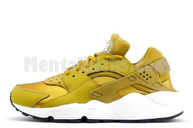 nike w's air huarache run bronzine 634835 700