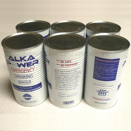30 year shelf life canned water