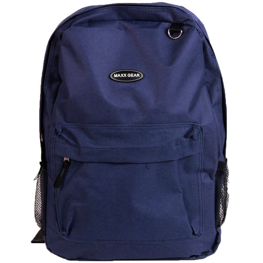 blue 17 inch navy blue backpack from SafetyKitStore.com