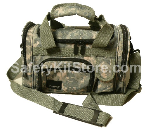 Camo Style 13 inch duffel bag from SafetyKitStore.com