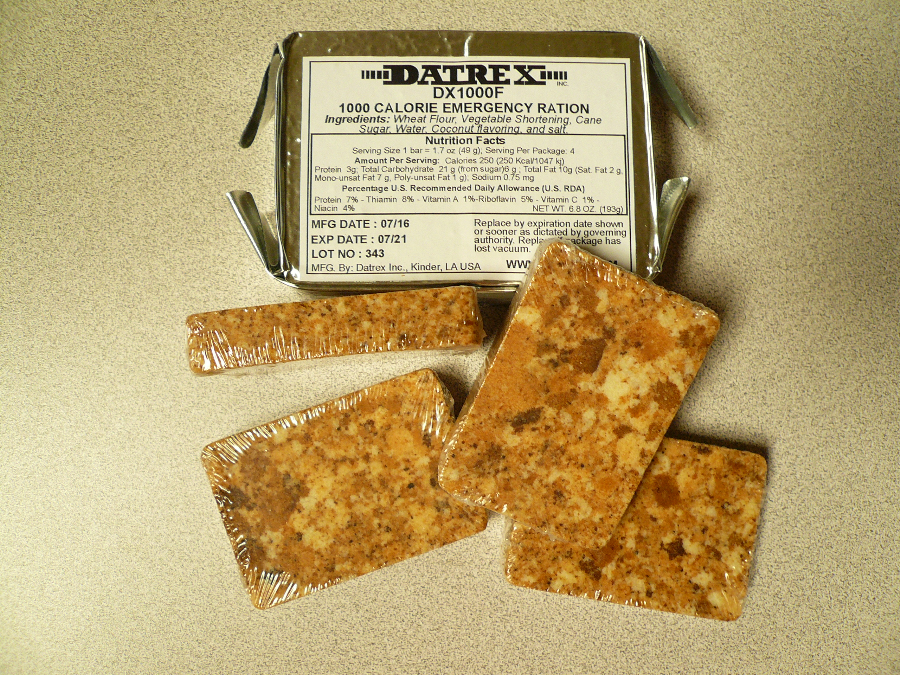 Datrex 1000 calorie Food Bar