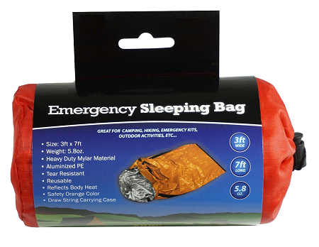Emergency Sleeping Bag in carry case from SafetyKitStore