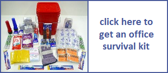 tsunami survival kit for office