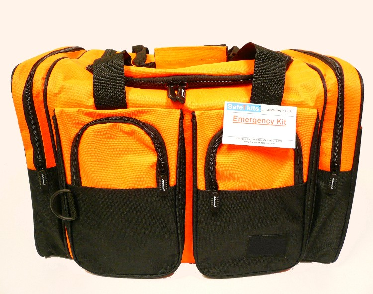 red 18 inch inch duffel bag from SafetyKitStore.com