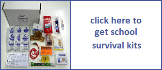 tsunami survival kit for schools and students