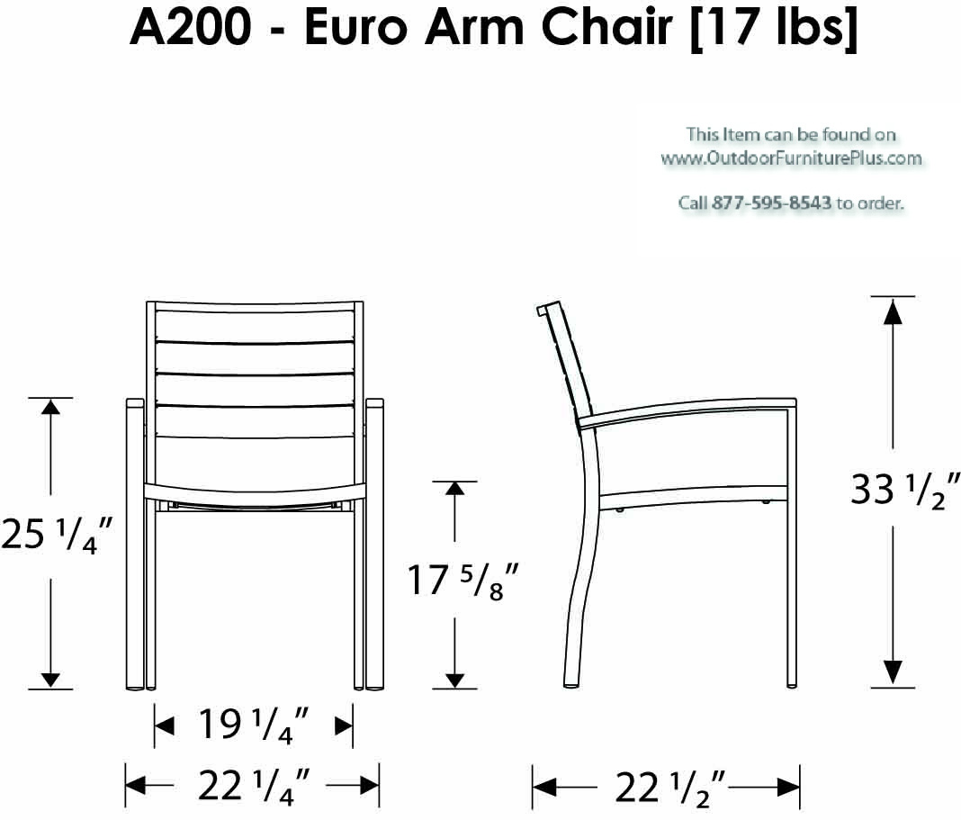 Dimensions dining chairs dimensions standard traditional design - Click To See Line Drawing