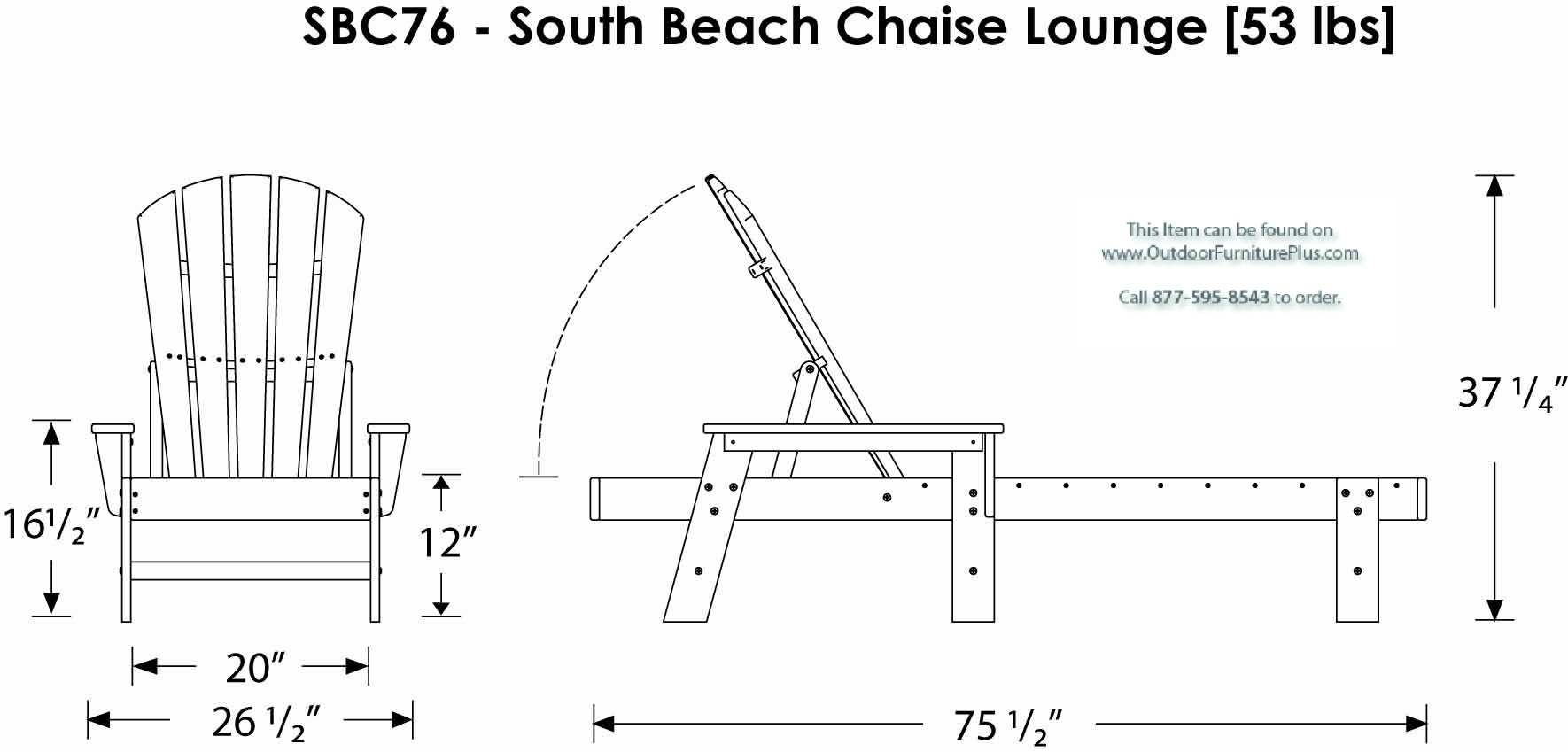 Beach lounge chair drawing - Click To See Line Drawing