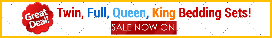 Get Great Deals on Twin, Full, Queen, and King Bedding Sets Today!