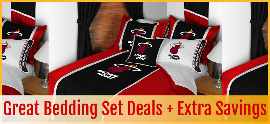 Miami Heat Bedding  Bedding Sets  Comforter  Sheet Sets  Bed in a Bag  Bed  Sets    More. Buy Today  Miami Heat Bedding  Bedding Sets  Comforter  Sheet Sets