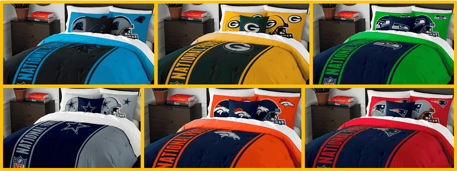 Up To $75 Off Plus FREE Ship On NCAA Bedding, NFL Bedding, MLB ...