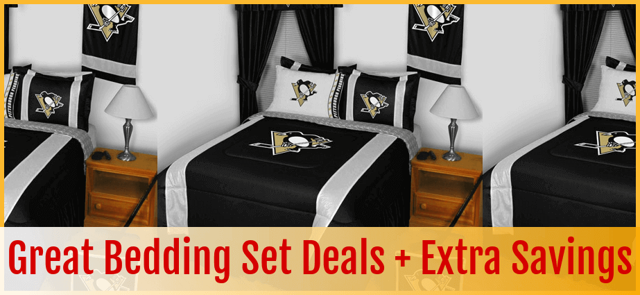 BEDDING AND DECOR   PITTSBURGH PENGUINS. Buy Today  Pittsburgh Penguins Bedding  Bedding Sets  Comforter