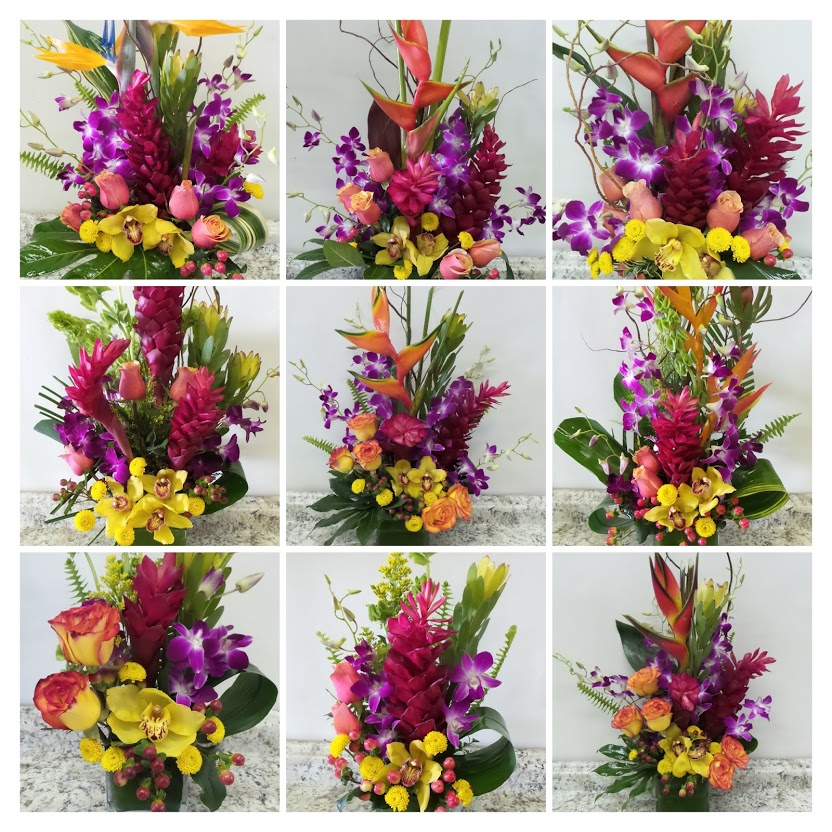 Tropical Flowers Samples