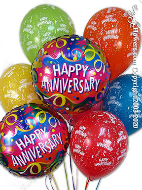 Anniversary Balloon Bouquet CBB34 $29.99