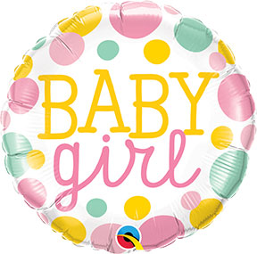 Baby Girl Dots $6.99