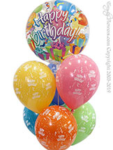 Birthday Bubble Balloons $24.99