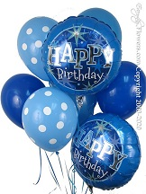 Blue Birthday Balloons CBB263 $29.99