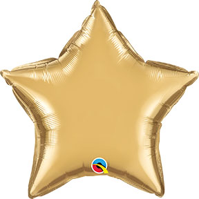 Chrome Gold Star $6.99