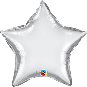 Chrome Silver Star $6.99