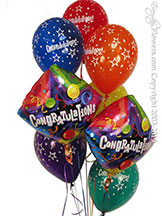 Congratulations Balloon Bouquet CBB238 $29.99