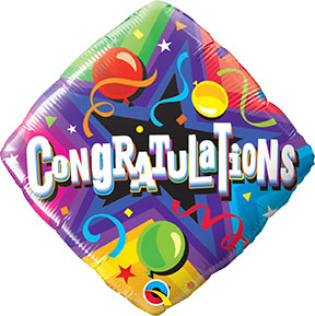 Congratulations Balloon $6.99