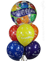 Congratulations Bubble Balloons $24.99