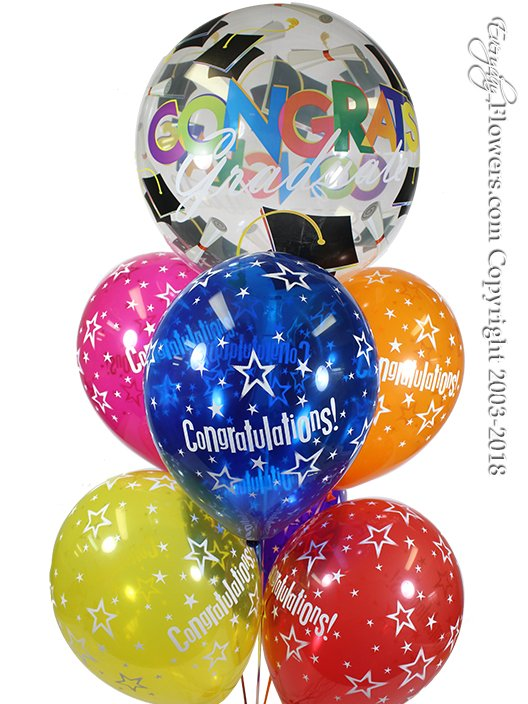 Congratulations Grad Balloon Bouquet CBB41 $24.99