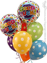 Good Luck Balloon Bouquet $29.99