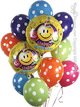 Happy Birthday Polka Dot Balloons CBB197 $44.99