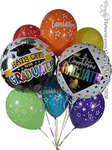 Hats Off To The Graduate Balloon Bouquet CBB359 $29.99