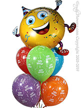Party Guy Birthday Balloon Bouquet $29.99