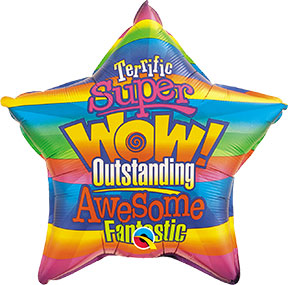 Super Wow Fantastic Balloons $6.99