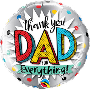 Thank You Dad For Everything $6.99
