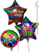 Two Foil Balloons $13.99