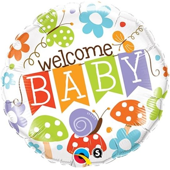 Welcome Baby $6.99