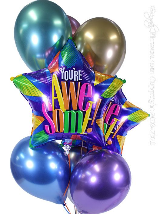 You're Awesome Balloons CBB333 $29.99