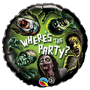 Zombie Party Balloon $6.99