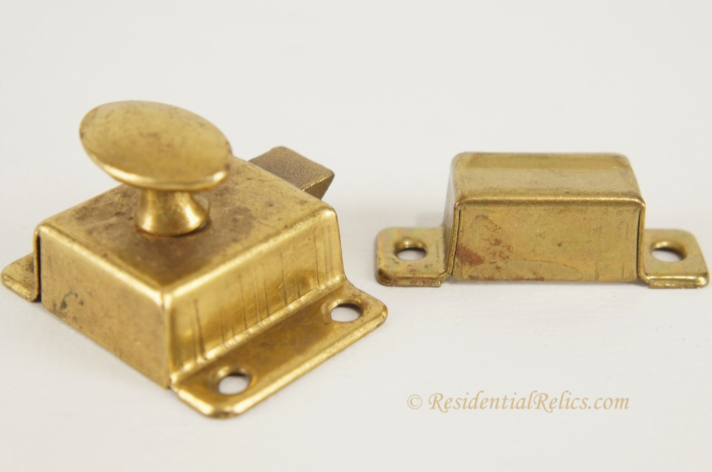Vintage Brass Cabinet Latches | MF Cabinets