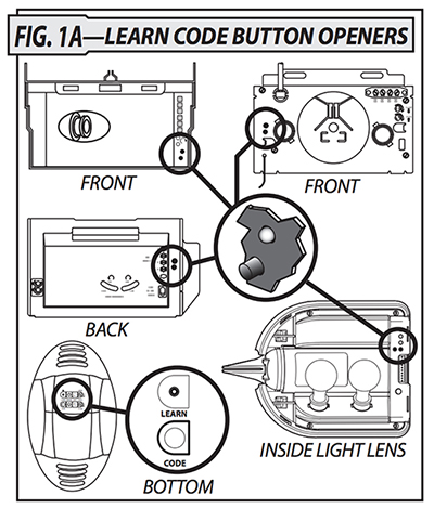 Genie GICT390-1BL Remote Replacement Installation Instructions