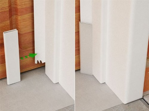 Garage Door Stop Molding Rodent Guard Installation Guide