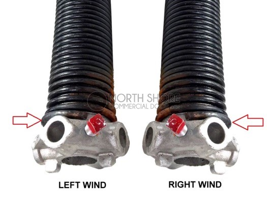 Left Wound and Right Wound Spring