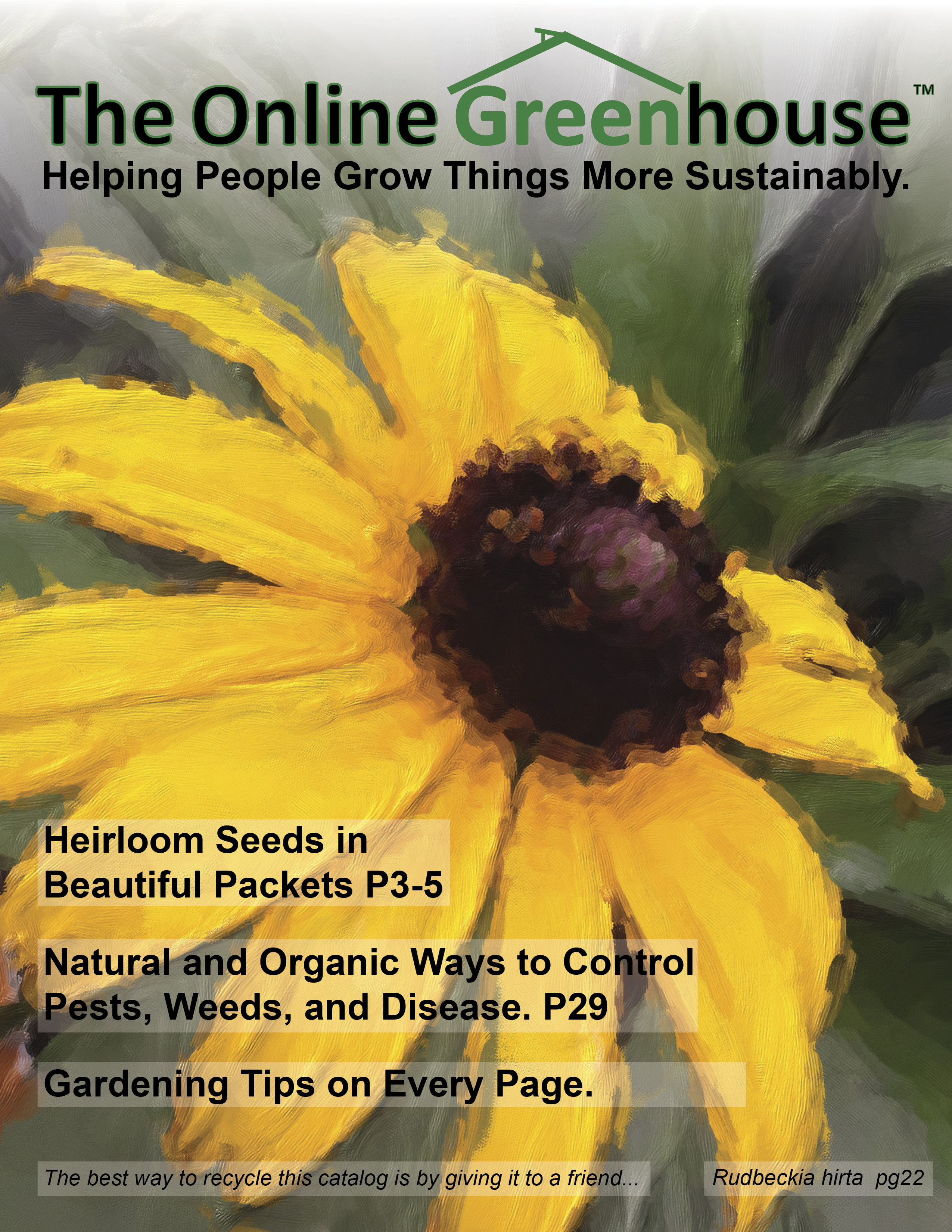 The Online Greenhouse Catalog 2014