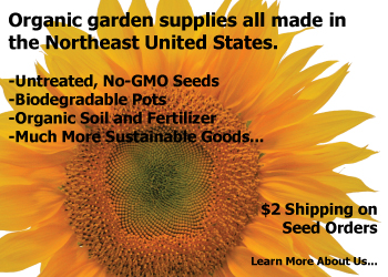 Garden Supplies - Large online selection of untreated, no GMO seeds, organic potting soils, organic fertilizer and amazing variety and pricing of CowPots