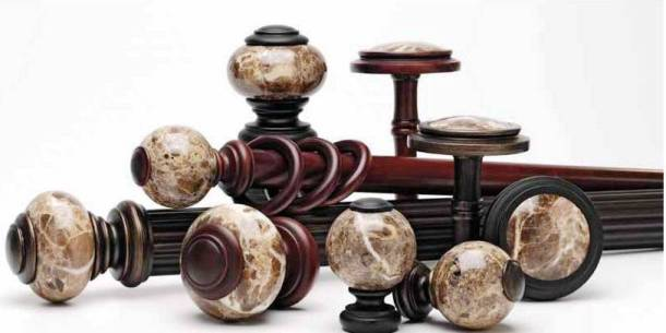 Tuscan Marble Rod Collection