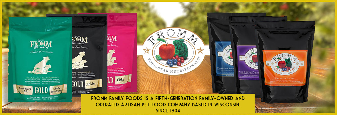 Fromm | Pet Food for Dogs & Cats | On Sale HealthyPets