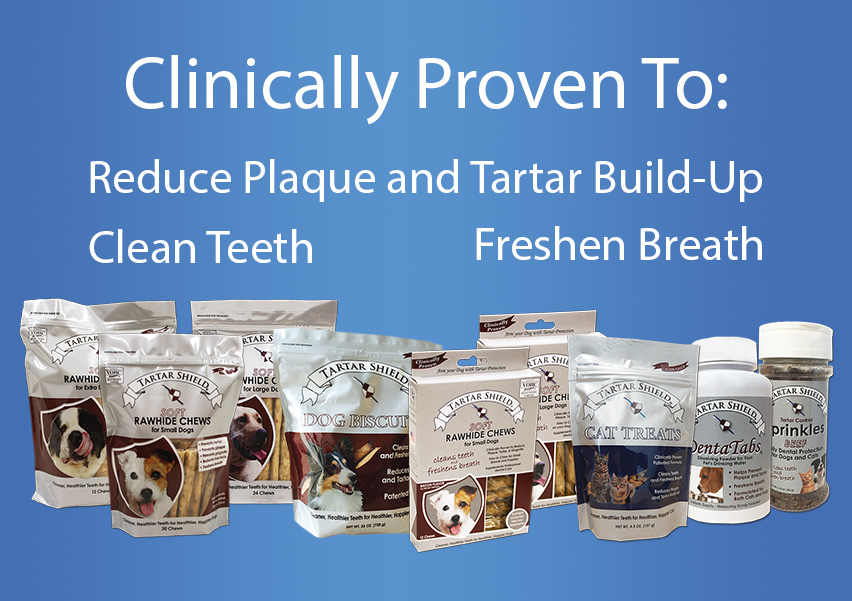 Clinically Proven To: Reduce Plaque and Tartar Build-Up, Clean Teeth, Freshen Breath. Product images.