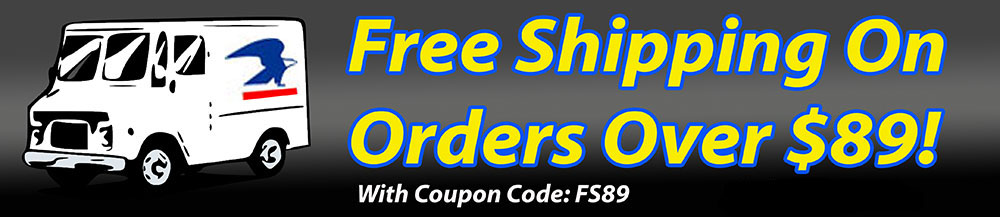 Free Shipping on Orders Over $89!