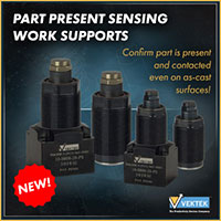 Part Presence Sensing Work Supports